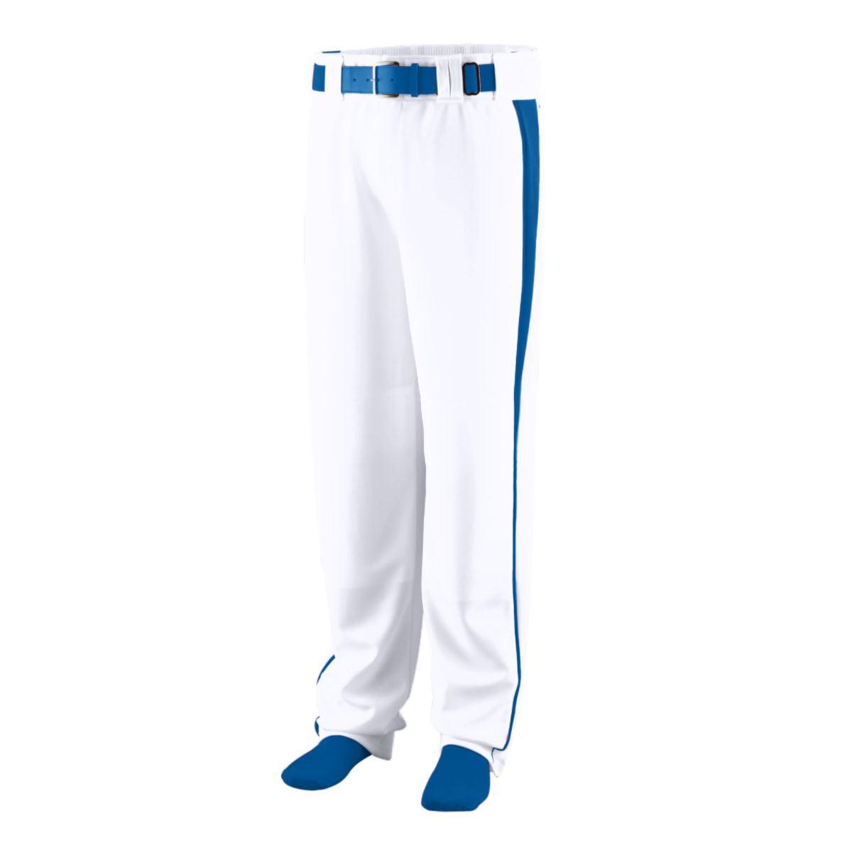 Augusta Sportswear Boys' Triple Play Baseball Pant M White Royal by Augusta