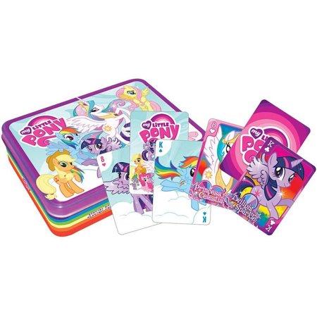 My Little Pony Playing Cards Tin Set MLP Friendship Is Magic Rainbow Dash (Little Tin)