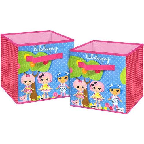 Lalaloopsy  2-Pack Storage Cube
