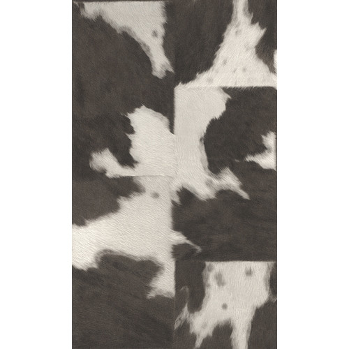 Washington Wallcoverings African Queen 33' x 20.5'' Cowhide Print 3D Embossed Wallpaper