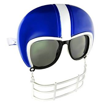 Party Costumes - Sun-Staches - Blue Football Helmet Game Shade Toys SG1901