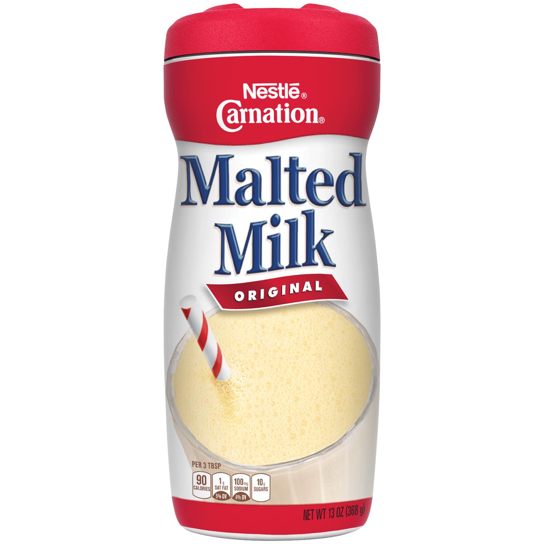 Carnation Drink Mix, Original Malted Milk, 13 Oz, 1 Count