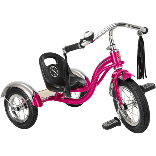 "12"" Schwinn Roadster Trike, Hot Pink"