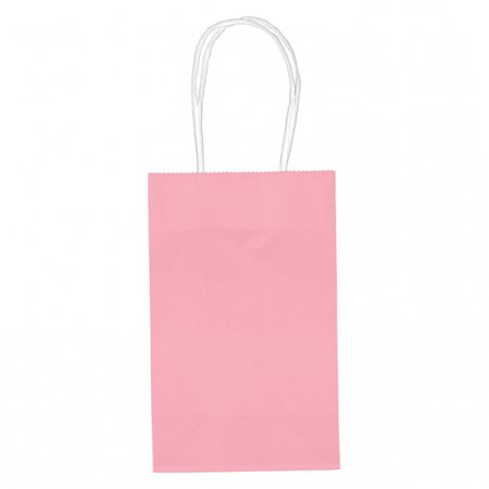 Amscan Small Paper Gift Bag Value Pack, Pink, 10 (Value Gift Pack)