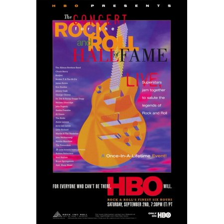 The Concert for the Rock and Roll Hall of Fame POSTER (27x40) for $<!---->