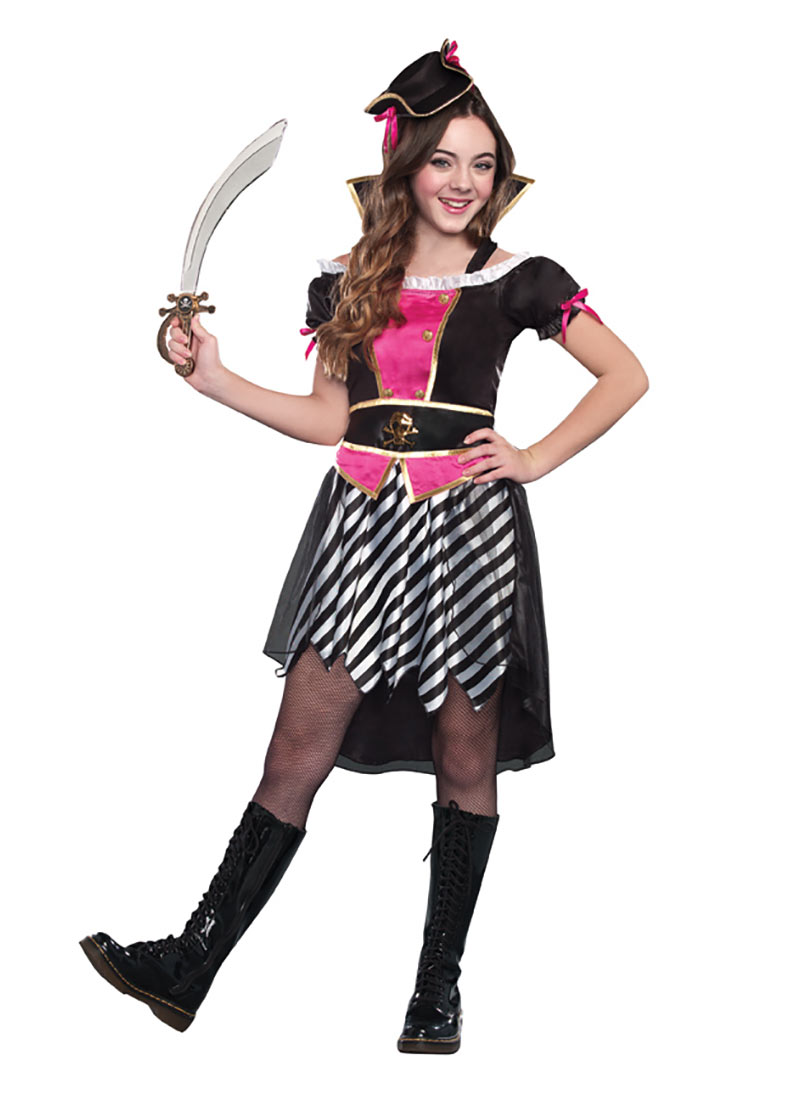 Tween Pretty Little Pirate Costume by Dreamgirl 9577  sc 1 st  Walmart & Tween Pretty Little Pirate Costume by Dreamgirl 9577 - Walmart.com