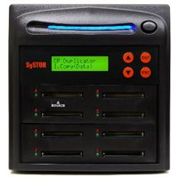 SySTOR 1:7 Multiple Compact Flash CF Memory Card Duplicator / Sanitizer