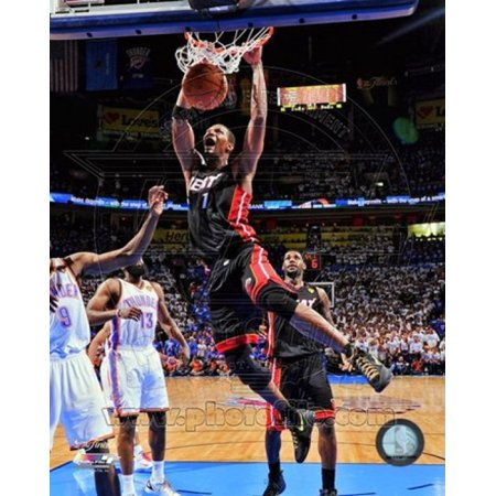 Chris Bosh Game 2 of the 2012 NBA Finals Action Sports Photo