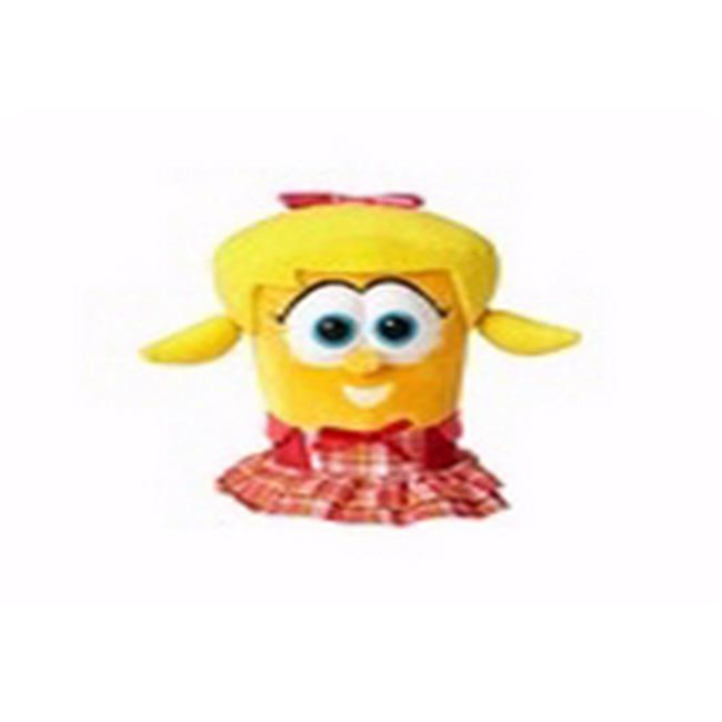 Anchor Distributors 177933 6.5 in. Veggie Tales Laura the Carrot Toy Plush by Anchor Distributors