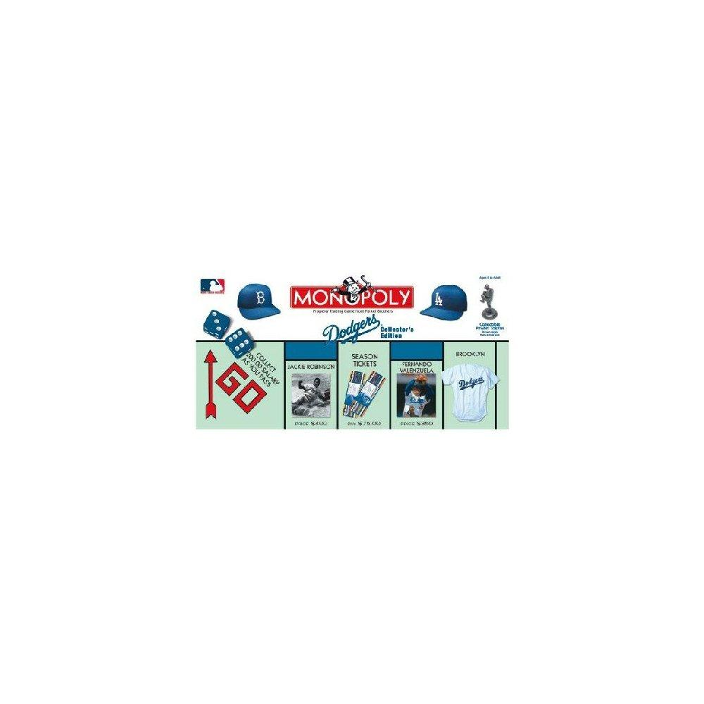 Dodgers Baseball Collector's Edition Monopoly Board Game by