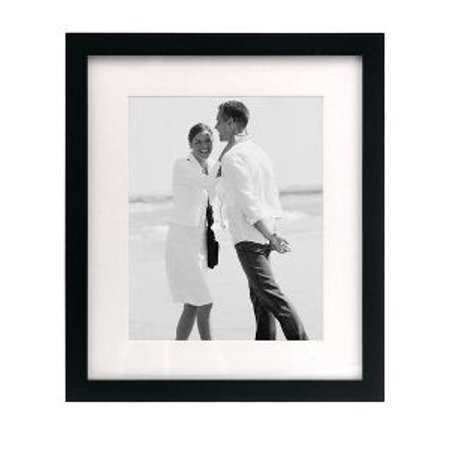 8x10 MATTED / 11x13 LINEAR WALL - BLACK PICTURE FRAME