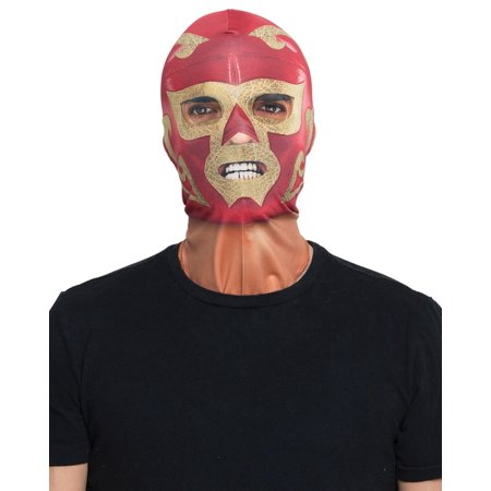 Faux Real Mexican Wrestler Mask