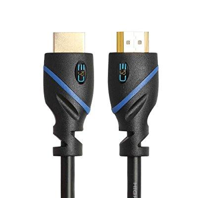 C High HDMI Cable 75 Feet, with Built-in Signal Booster Supports 3D & Audio