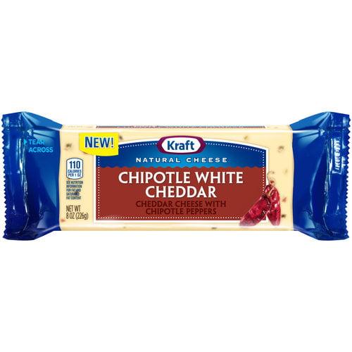 Kraft Chipotle White Cheddar Natural Cheese, 8 oz