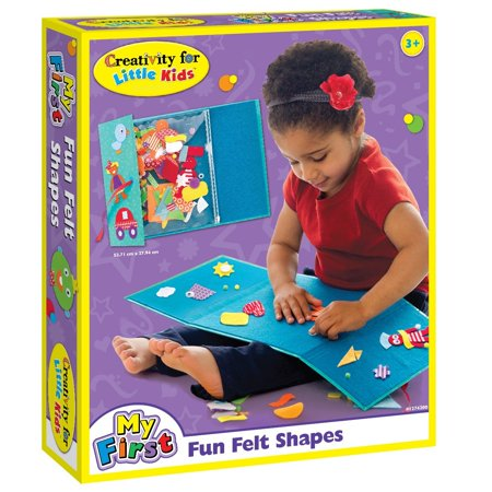Creativity for Kids My First Fun Felt Shapes - Portable Felt Board for Preschoolers](Arts And Crafts For Preschoolers)