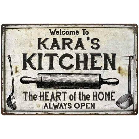 Kara S Kitchen Farmhouse Sign 16 X 24 Matte Finish Metal 116240033384