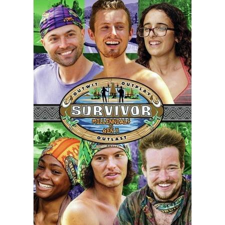 Survivor: Millennials vs. Gen X - Season 33 (DVD)