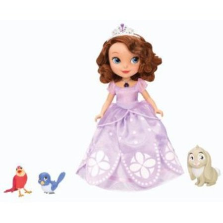 Sofia the First Talking Sofia Doll and Animal Friends Play Set