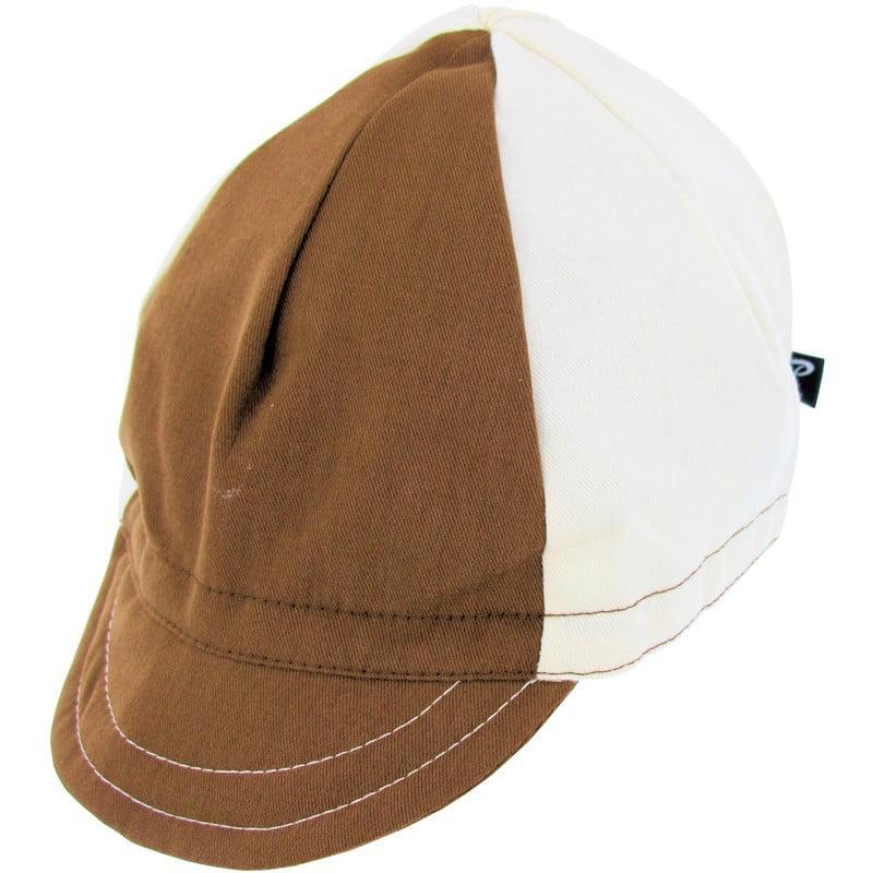 Pace Sportswear Euro Cap Soft Visor Nutmeg/Vanilla Brushed Twill