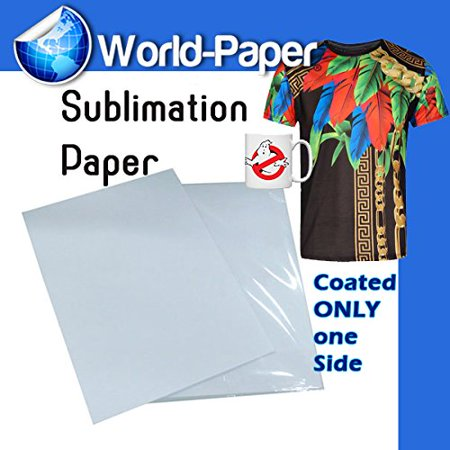 100 Quality Dye Sublimation Ink 13x19 Transfer Paper Mug Heat