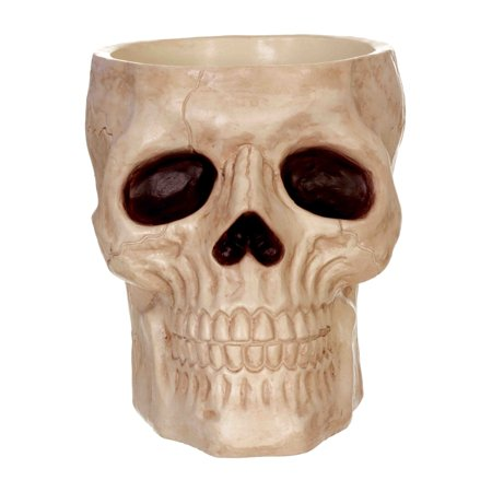 Skeleton Candy Bowl Halloween Decoration](Glass Halloween Bowl)