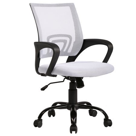 BestOffice Office Chair Ergonomic Cheap Desk Chair Swivel Rolling Computer Chair (Office Desk Chair Ergonomic)