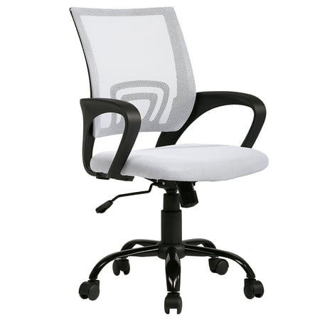 BestOffice Office Chair Ergonomic Cheap Desk Chair Swivel Rolling Computer Chair ()