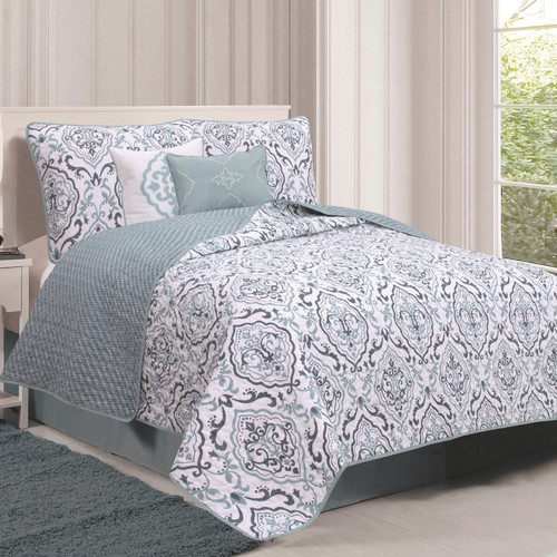 Home Fashion Designs Deena Quilt Set