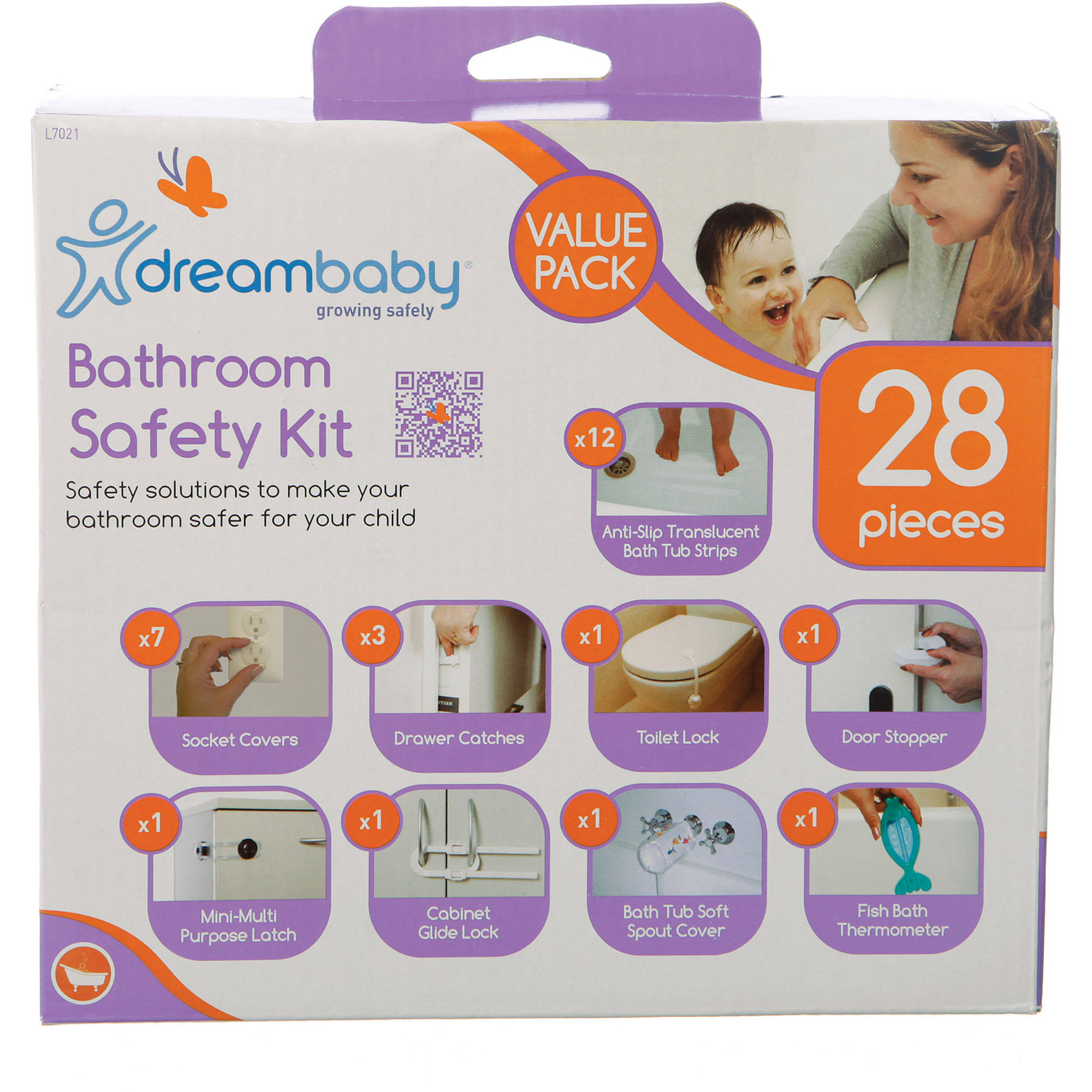 Dreambaby Bathroom Safety Value Pack, 28 Pieces