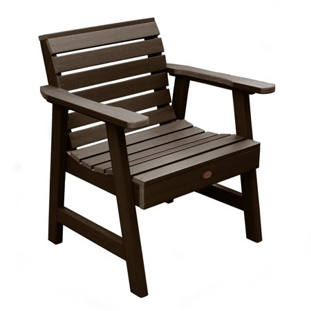 Highwood Eco-Friendly Weatherly Garden Chair Weathered Acorn