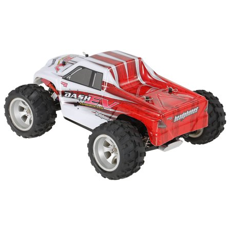 WLtoys A979-B 2.4G 1/18 Scale 4WD 70KM/h High Speed Electric RTR Truck RC Car - image 3 de 7