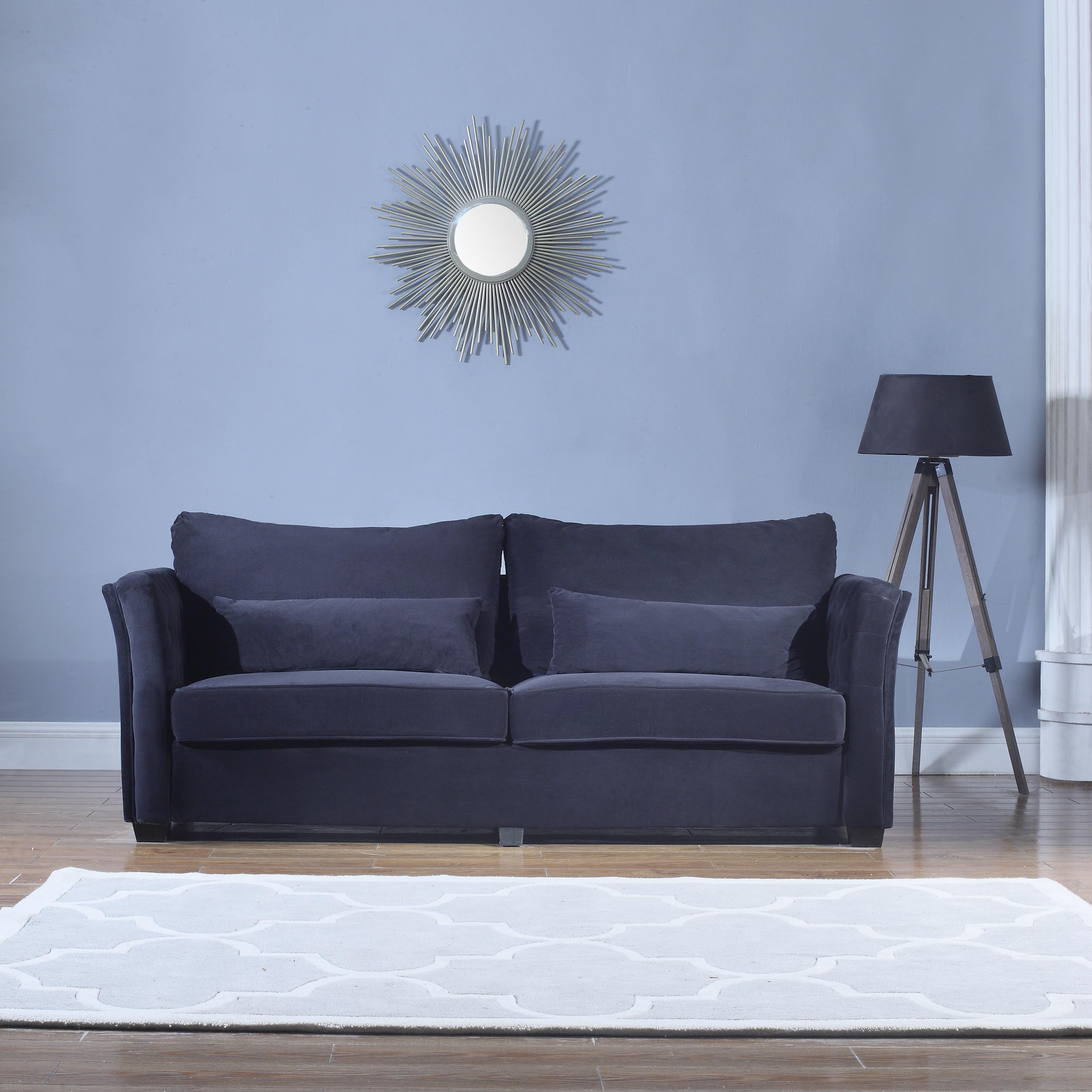 Traditional Velvet Sofa