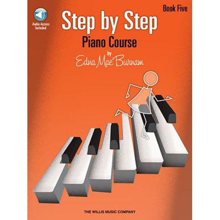 Step by Step Piano Course - Book 5 (Bk/Audio)
