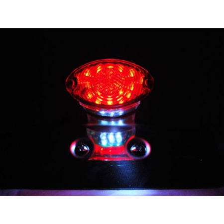 Custom LED License Plate Taillight Brake Light For Ducati Regolarita 125 Ala Rossa 350 - image 4 de 7