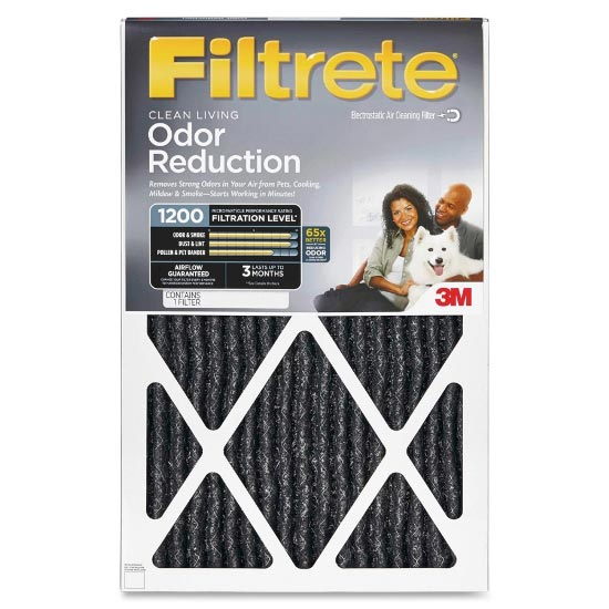 Filtrete Home Odor Reduction Filter (2 Pack)