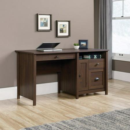 Sauder County Line Desk  Rum Walnut