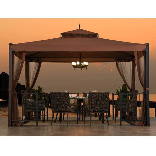 Sunjoy 110101006 Biscane Gazebo by SunNest Services LLC