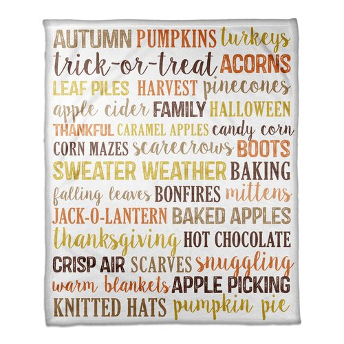 The Holiday Aisle Alasdair Fall Things Blanket