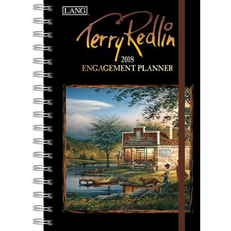 Terry Redlin 2018 Engagement Planner - Spiral - Terry Redlin Comforts Of Home