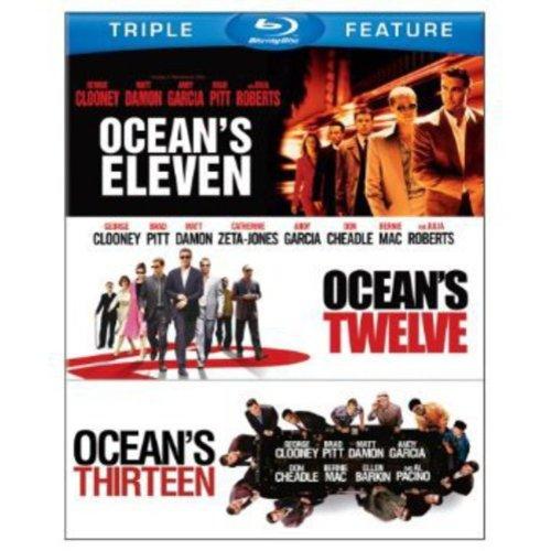 Ocean's 3 Film Collection: Ocean's Eleven (2001) / Ocean's Twelve / Ocean's Thirteen (Blu-ray) (Widescreen)