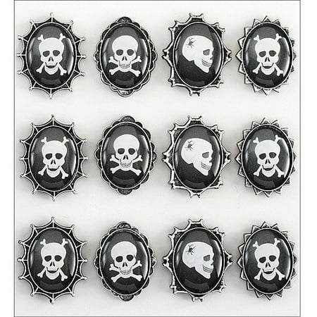 Jolee's Halloween Stickers, Skull Cameos for $<!---->