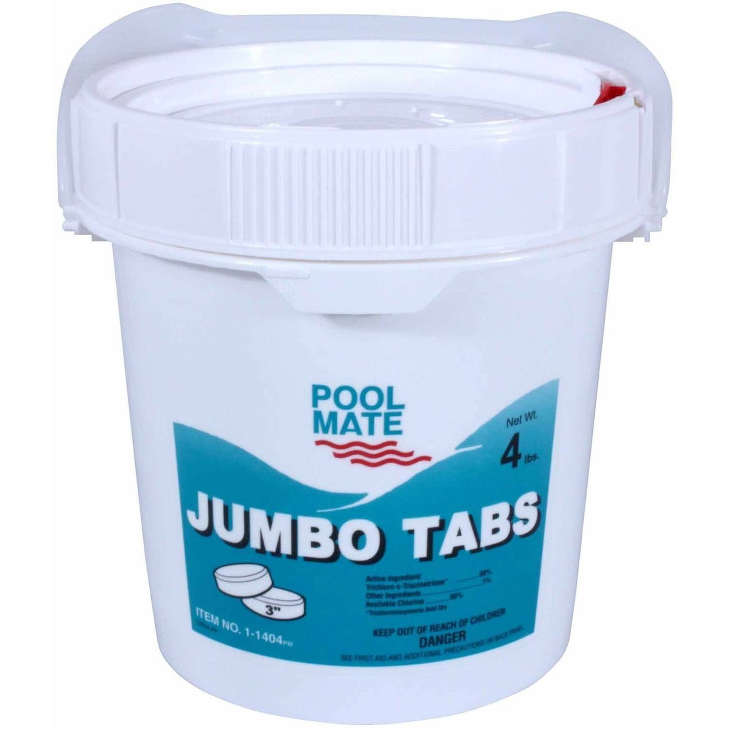 "Pool Mate Jumbo 3"" Chlorine Tablets for Swimming Pools ..."