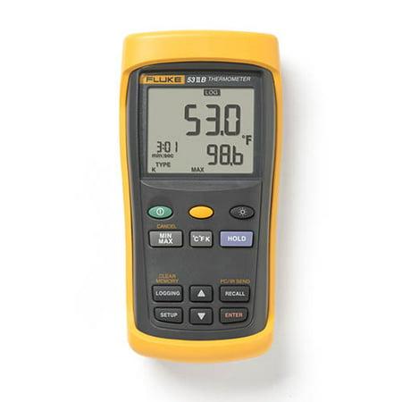 Thermocouple Recorder - Fluke 53 II B Single Input Digital Thermocouple Thermometer with Data Logging