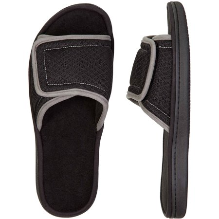 Dearfoams Df By Dearfoams Men S Slide Slipper Walmart Com