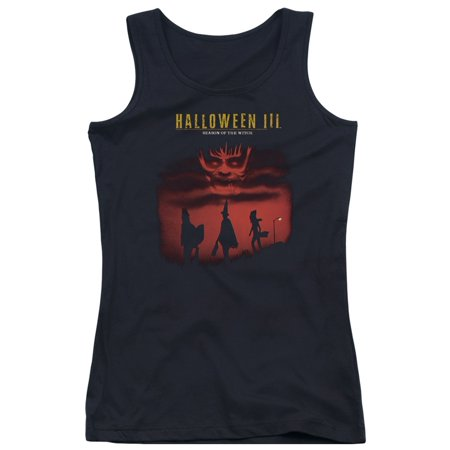 Halloween III Horror Slasher Movie Season Of The Witch Juniors Tank Top Shirt (Witch Halloween Movies)