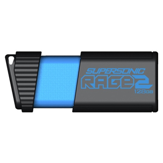 Patriot Memory Supersonic Rage 3 USB Flash Drive, 128GB