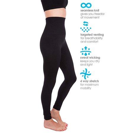 SLIMBELLE High Waist Tummy Compression Slimming Leggings Skinny