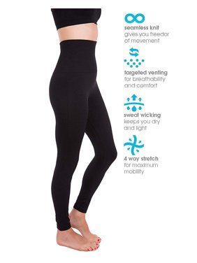 c9bb69c9cf66f Product Image SLIMBELLE Women's Seamless High Waist Slim Compression Full  Length Legging