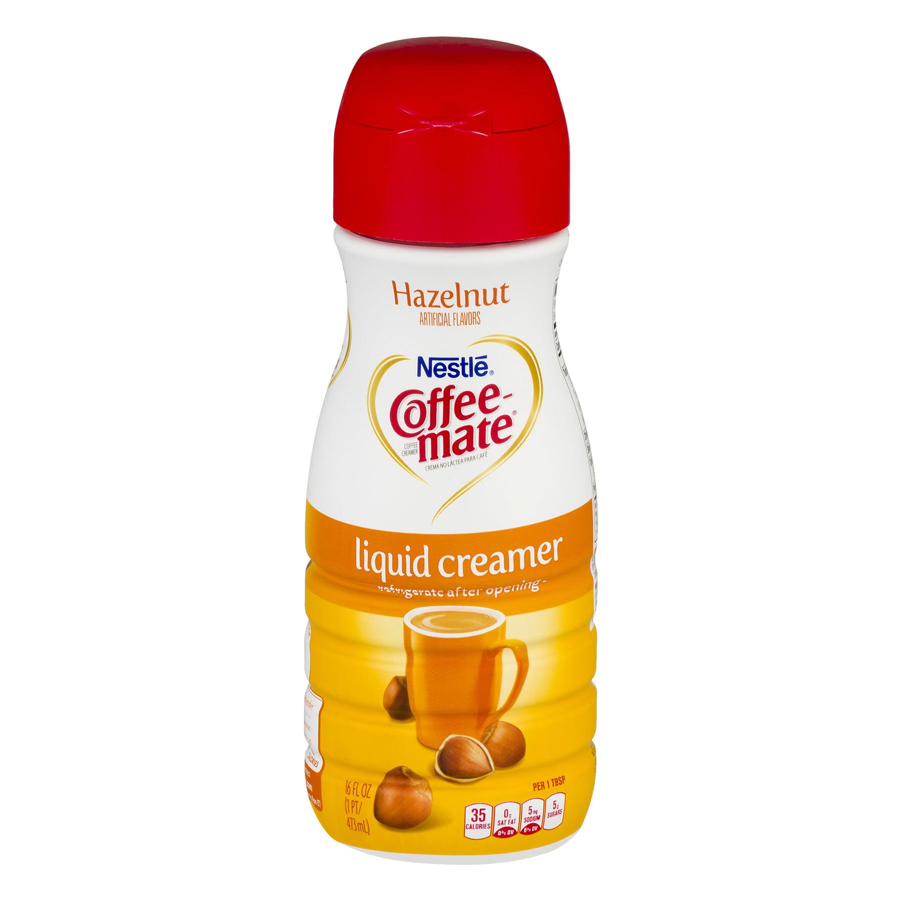 COFFEE MATE Hazelnut Liquid Coffee Creamer 16 fl. oz. Bottle (3 Pack)