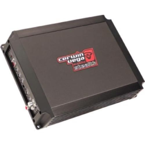 Cerwin Vega's Mobile Stealth 600.1 Car Amplifier - 1200 W Pmpo - 1 Channel - Class D - 200 X 1 W @ 4 Ohm - 350 X 1 W @ 2 Ohm (stealth600-1)